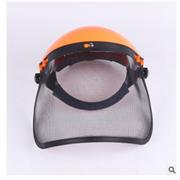 防护面罩割草防护防爆面罩钢丝网园林机械防飞溅面屏防爆面具