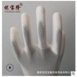 pu涂掌手套 涂指浸胶防滑手套防护耐磨尼龙无尘13针电子劳保