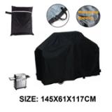 供应ebay 亚马逊热卖 BBQ Cover 户外烧烤罩 145x61x117cm 黑色