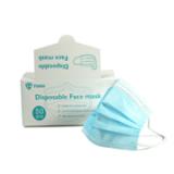 大量现货双认证CE FDA三层一次性囗罩FFP2防尘雾霾透气熔喷布50只