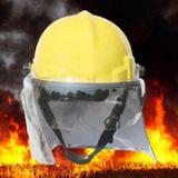 韩式消防头盔 02款消防服头盔 抢险救援头盔 防砸防护安全帽
