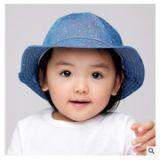 靓冠儿春季新款韩版棉1-2岁男女儿童宝宝外出遮阳渔夫盆帽