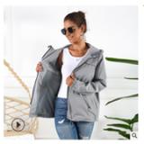 外贸亚马逊爆款女式防水雨衣风衣外套户外连帽防雨夹克 配收纳袋