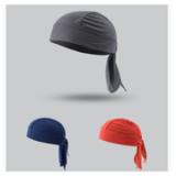 嘻哈街舞海盗帽包头巾成人帽全棉变形虫头巾帽定制方巾出口高品质