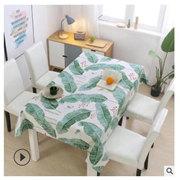 2020年纯棉老粗布桌布沙发布茶几布多功能盖布微商代发实体批发展
