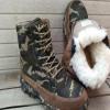新款上市耐磨防寒羊毛靴 防滑耐磨皮毛一体男式保暖防寒羊毛靴