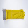 厂家直销牛皮防寒保暖手套耐磨劳保加厚耐低温电焊劳保工作手套