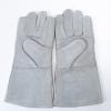 全新牛皮焊工手套防烫伤耐磨耐撕拉透气防护电焊手套定制直销