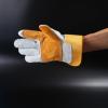 防火线牛皮电焊手套耐磨隔热防烫加厚款牛皮手套量大价优