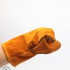 焊工专用长款手套 耐热防烫焊接手套长款焊接手套牛皮挂里可定制