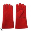长款焊接手套 防烫电焊手套长款劳保焊工手套柔软耐用厂家定制