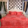 棉被厂家 纯棉真丝提花七件套 婚庆多件套 欧式床上用品多件套