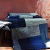 丹凤手工:农村自织老粗布纯棉床单加厚拼布被单1.5m1.8m2m床品