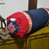 丹凤创意:中式古典家居布艺肚兜元素系列绣花拼色枕头长方枕含芯