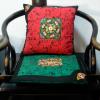 中式古典家居布艺 乘云纹绣花抱枕套靠垫套坐垫椅垫