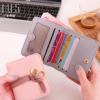 麦梵思2018新品欧美时尚流行抽带二折小钱包女短款女士薄手拿包