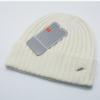 冬帽子 beanie外贸毛线帽 保暖针织帽 时尚反边冬帽男女通用