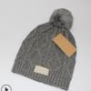 外贸UG帽子 加球冬天保暖帽子 欧美大牌女士毛线帽子