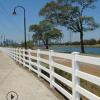 PVC马场护栏 农牧养殖场隔离栏杆马场赛道塑钢围栏草原牧场围栏