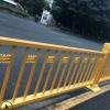道路护栏厂家订制 城市道路中央隔离交通设施 市政人行道安全围栏