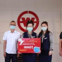 四平八家爱心企业向环卫职工捐赠防护口罩3.7万只
