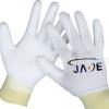 厂家直销 PU劳保工业防静电手套透气针织尼龙涂掌手套批发
