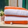 厂家生产直销纯棉色织浴巾、沙滩巾