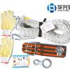 拍下即发应急逃生绳内含航空钢丝绳高楼缓降户外安全救生绳索套装