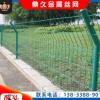 家用室外低碳钢丝围栏网养鸡鱼塘隔离防护网浸塑铁丝绿色围栏网