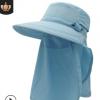 outfly360度防晒遮阳帽2020年春夏新款男女士透气日本uv渔夫帽