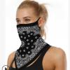 亚马逊热销冷感防晒面罩冰丝围脖骑行三角巾头巾透气面巾bandana