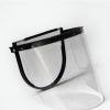 劳保批发 半封闭防冲击飞溅透明电焊面屏 安全帽有机玻璃防护面罩