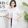 韩版白大褂美容院纹绣师工作服长袖短袖医生服药店女护士服