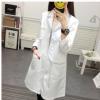 韩版白大褂医生服护士服修身女春夏装长袖短袖美容院纹绣师工作服