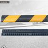 3公分微型线槽减速带单线减速垄防撞条分割线道路橡胶缓冲垫