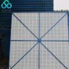 定制铝板爬架网 镀锌铝板建筑工地外围网 高层防护网
