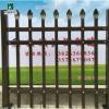 厂家建筑工程栏杆定做喷塑镀锌铁艺护栏安全防爬工厂围墙圈地栅栏