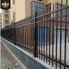 建筑工程院墙铁艺栅栏 锌钢护栏 小区学校镀锌管庭院栏杆围栏批发