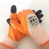 正品工业防护防滑耐磨劳保手套挂胶登升909耐磨王丁睛半挂手套