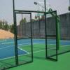 厂家批发 PVC勾花网 体育场护栏网 球场防护网 运动场围网安装