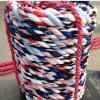 【丰达】厂家直销 比赛专用拔河绳 支持定做 布条拔河绳