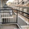 厂家批发阳台防护栏杆 防盗防坠落铁艺围栏 安全阳台护栏