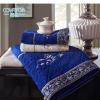 Covator隽优莫代尔复古毛巾浴巾可定制绣字木纤维毛巾1