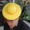 厂家定制EVA泡绵热压帽子 EVA工艺品热压遮阳帽 冷压成型玩具礼品