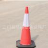 厂家直销 1米EVA压不坏圆锥 道路雪糕筒安全路锥