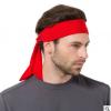 欧美男女户外运动头巾 健身跑步瑜伽止汗带 迷彩速干透气束发带