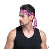 欧美男女迷彩纯色束发带 网眼透气止汗带 健身瑜伽户外运动长头巾