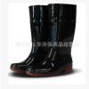 广州金橡 黑色男款010(503)高筒耐酸碱防滑雨鞋水鞋劳保鞋