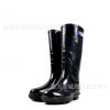 厂家直销海鸠男士高筒矿工雨鞋黑色雨靴防滑耐磨耐酸碱劳保水鞋