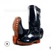 上海双钱男高双色加厚雨鞋胶鞋长筒防水鞋耐酸碱油工地矿工劳保